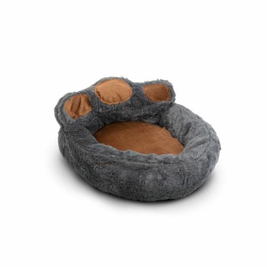 Mancs alakú kutyafekhely (S méret, Szürke, barna)