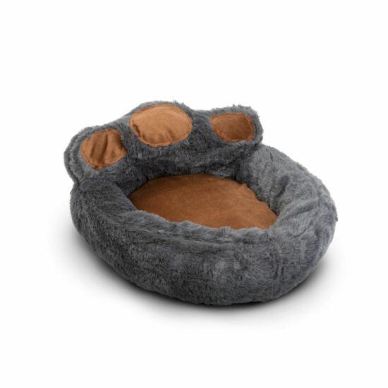 Mancs alakú kutyafekhely (M méret, Szürke, barna)