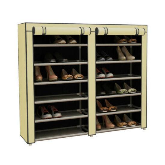Mobil cipőtároló szekrény (bézs)