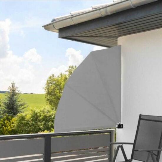 Legyező árnyékoló erkélyre (140cm, szürke)