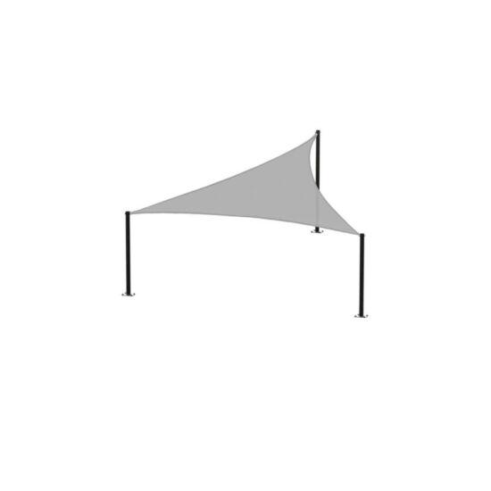 Háromszög napvitorla (szürke)
