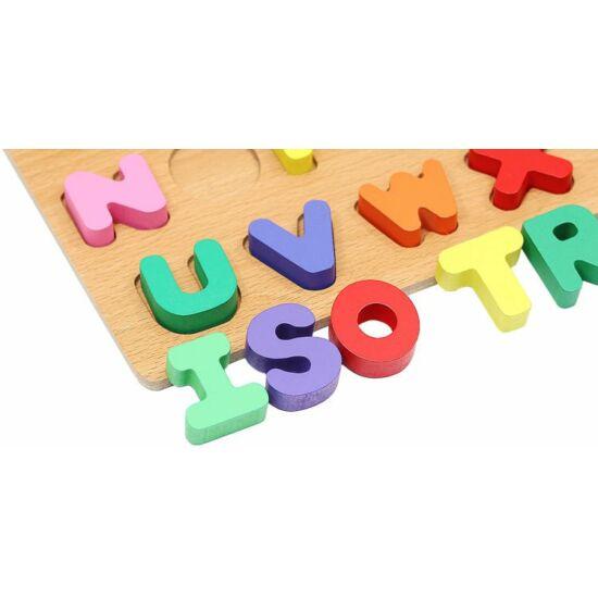 Fa ábécé puzzle oktatójáték