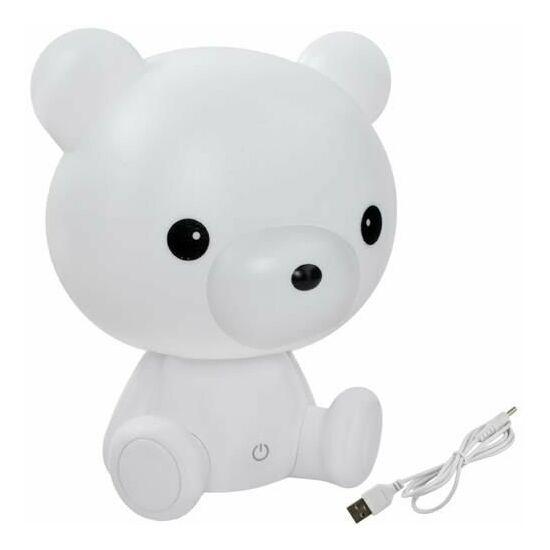 Gyermek LED-es éjszakai lámpa (mackó)