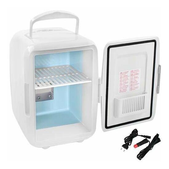 Autós hűtőszekrény 2in1 12V 220-240 V Fehér
