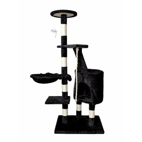 Macska kaparófa 118cm (fekete)