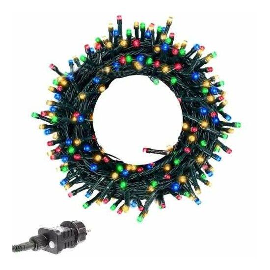 100 LED tündérfény karácsonyi fények beltéren / kültéren