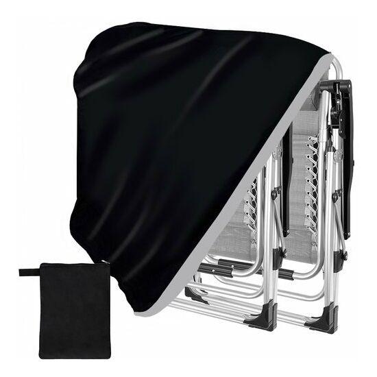Fekete szék- nyugágy huzat