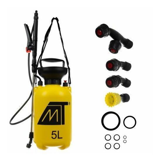 5L-es vállra akasztható permetező, teleszkópos nyéllel