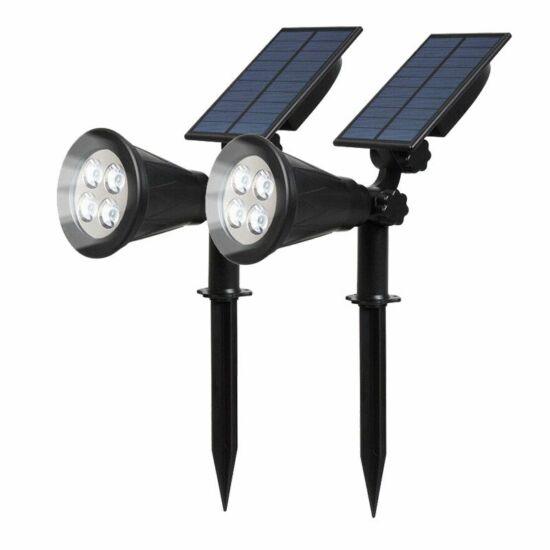 2 db-os napelemes épület díszvilágítás
