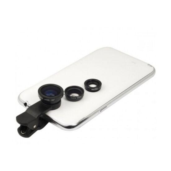 3 db csíptethető optika mobiltelefonhoz