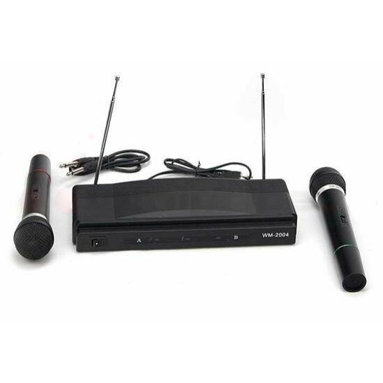 Karaoke állomás 2 vezeték nélküli mikrofonnal