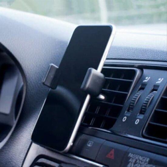 Univerzális autós telefontartó (55 - 80 mm, fekete)