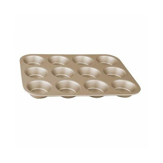 12 csészés muffin forma, My bronze pastry cook