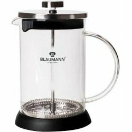 Dugattyús kávé- és teafőző (800 ml), fekete