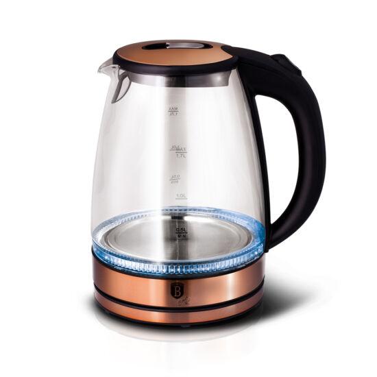 Üveg vízforraló, 1,7L