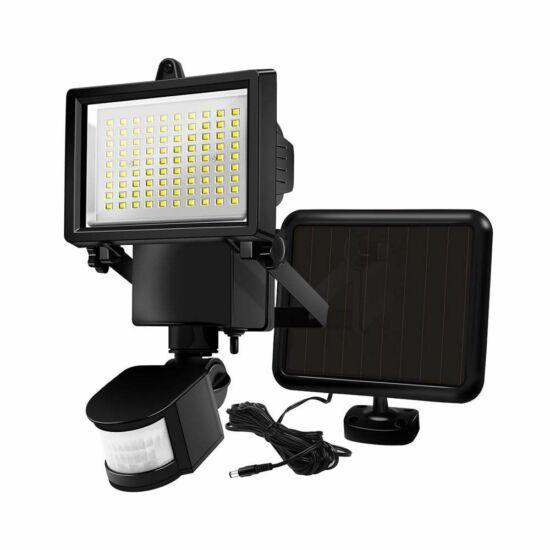 Mozgásérzékelős napelemes reflektor (60 LED-es)