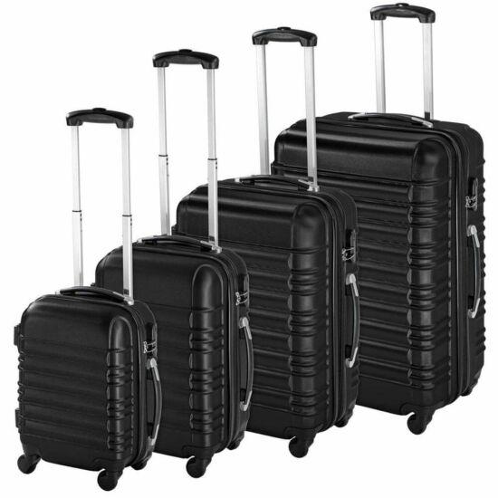 Merevfalú bőröndszett (fekete)