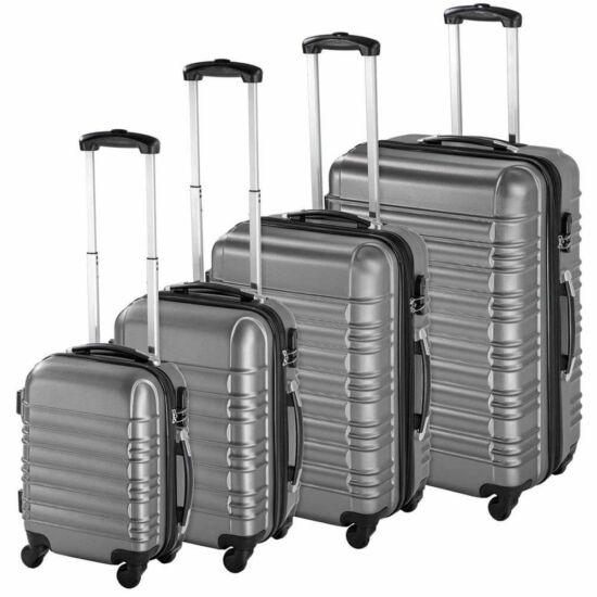 Merevfalú bőröndszett (szürke)