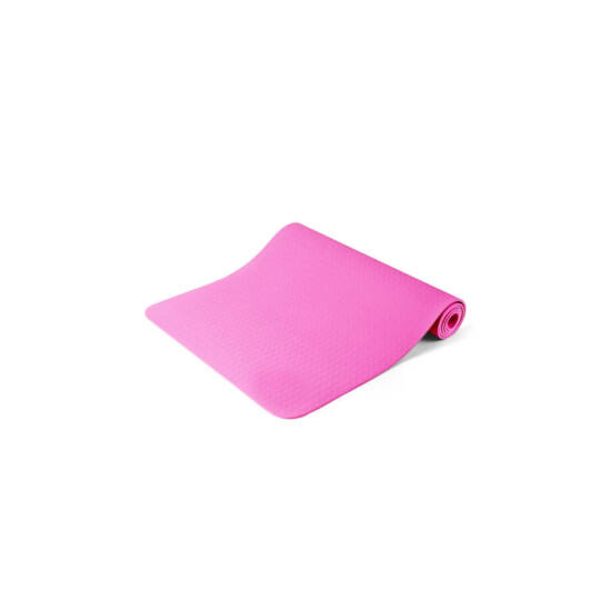 Jóga matrac, ajándék táskával (rózsaszín)