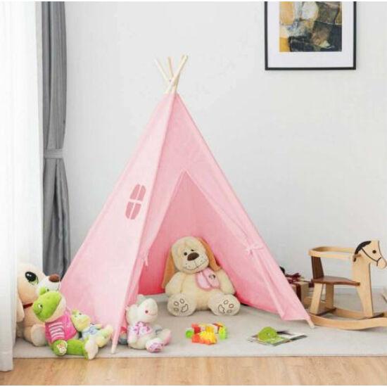 Indián sátor gyerekeknek (rózsaszín)