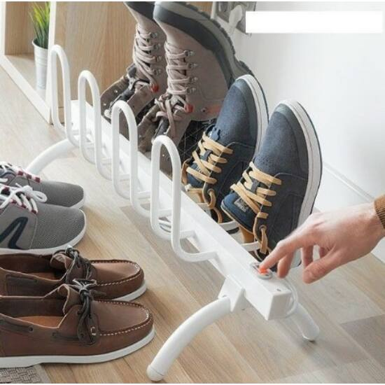 Elektromos cipőszárító 4 pár cipőnek