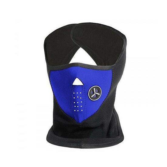 Neoprén arcvédő maszk (Kék színben)
