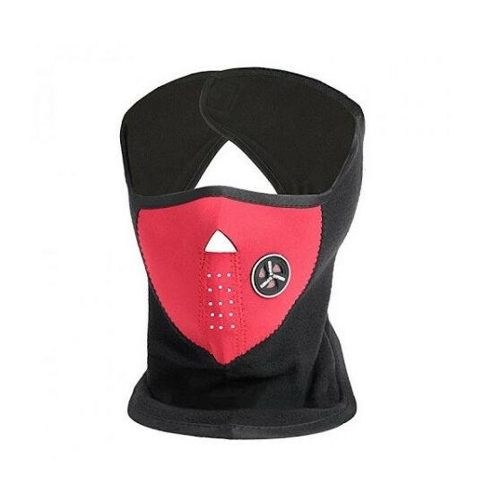 Neoprén arcvédő maszk (Piros színben)