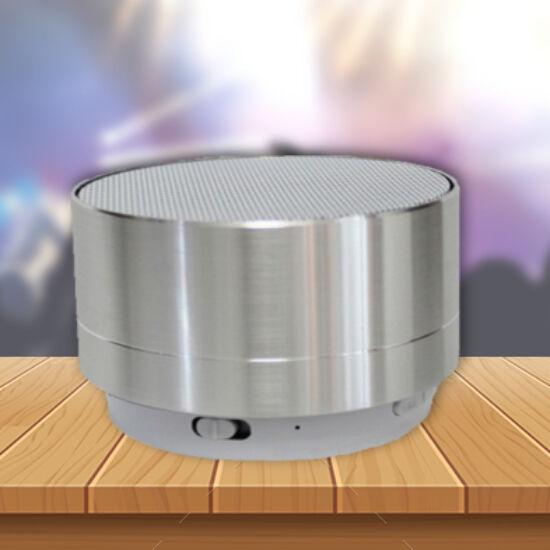Mini design bluetooth hangszóró (ezüst)