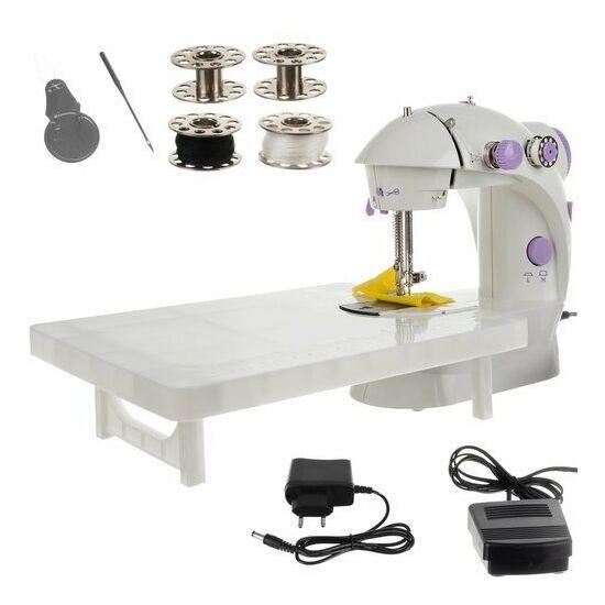 Kompakt varrógép rátolható asztallal