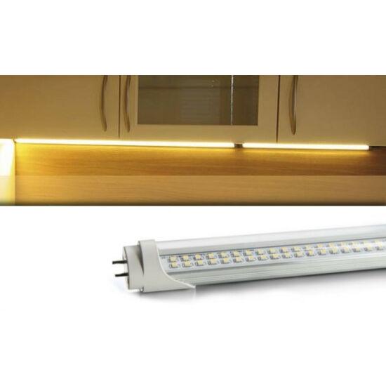 Duplasoros LED fénycső armatúrával (120CM 18W T8)