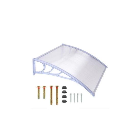 Műanyag előtető (120x90 cm, fehér)