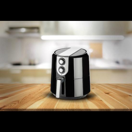 Cuisinier Deluxe olaj nélküli fritőz (1800W, 5,2 literes)