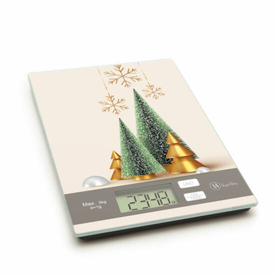 Konyhai mérleg (Karácsonyfa)