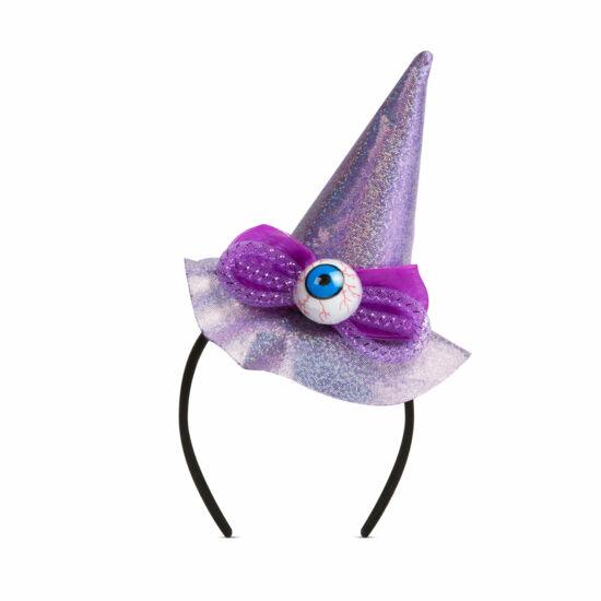 Halloween-i hajráf (boszorkány kalap)