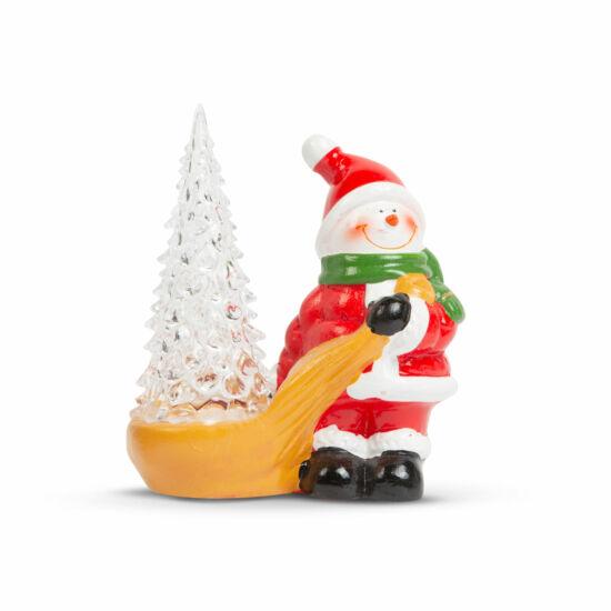 Karácsonyi RGB LED dekor (hóember, 13 x 7 x 15 cm)