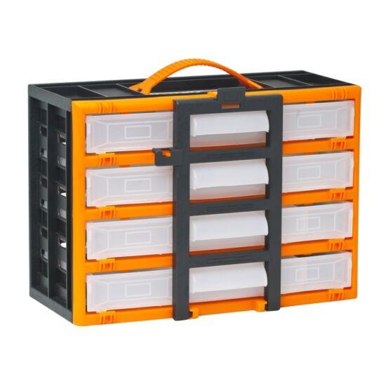 Hordozható kelléktároló szekrény (310 x 165 x 220 mm)