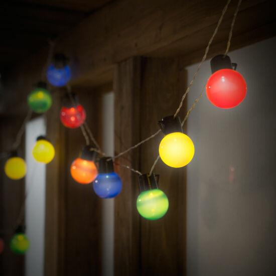 Party LED fényfüzér (20 db LED, 6 méter)