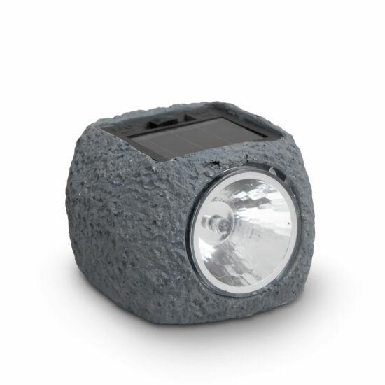 LED-es szolár kőlámpa