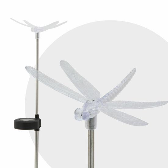 LED-es szolár lámpa (szitakötő)