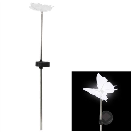 LED-es szolár lámpa (pillangó)