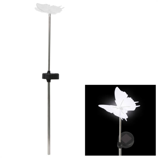 LED-es napelemes lámpa (pillangó)