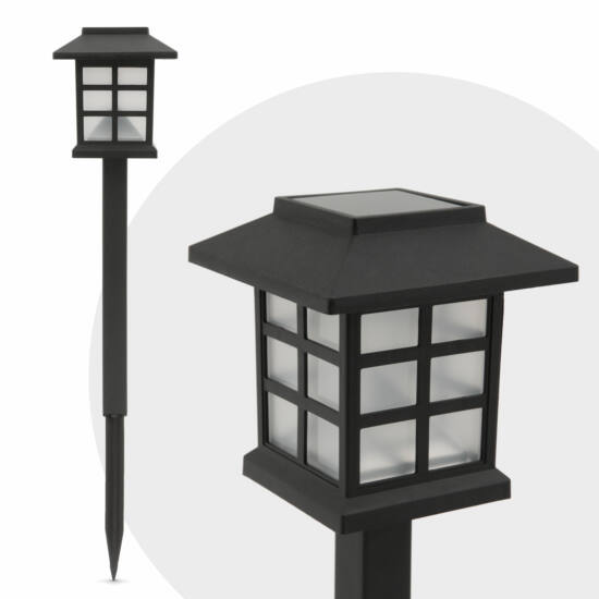 LED-es szolár lámpa (lángokat imitáló, 29 cm)