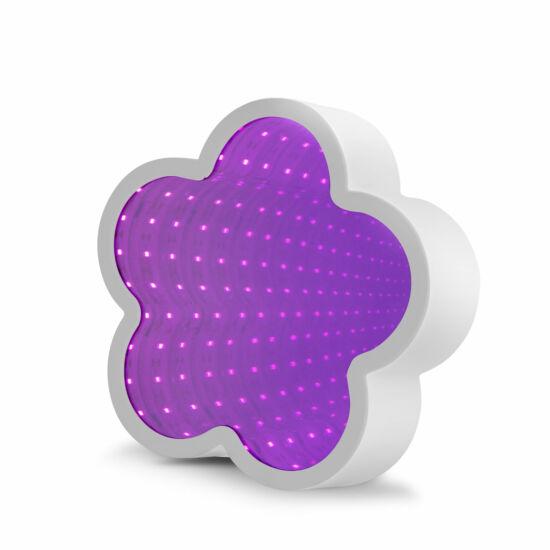 LED varázstükör (virág alakú)