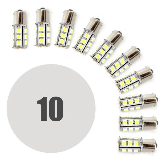 LED izzó (CLD309 Canbus, 5W BA15S 290 lumen, 10 darabos csomag)