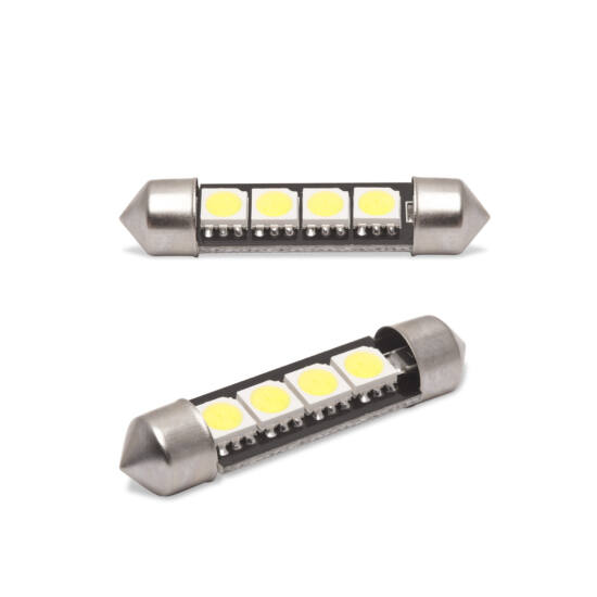 LED izzó (CAN108 Canbus, 3W Sofit 41 mm 72 lumen, 2 darabos csomag)