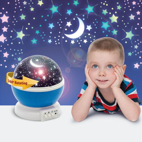 LED csillagos égbolt mini projektor (kék)
