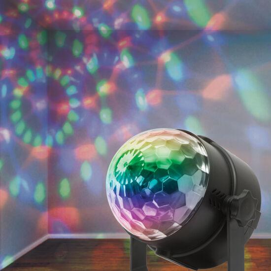 LED-es partyfény, mágikus kristály (3 W)