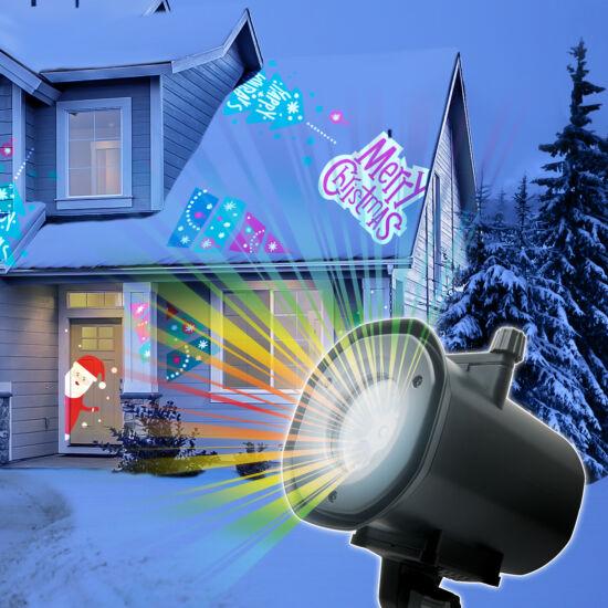 LED-es partyfény (12W, karácsony, halloween, party, tél)