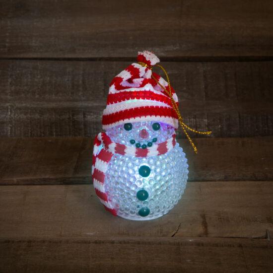LED-es hóember (~ 8 cm)