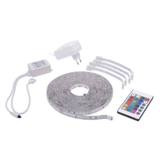 LED szalag szett (Epistar chip, 5 méter, SMD 5050 LED)